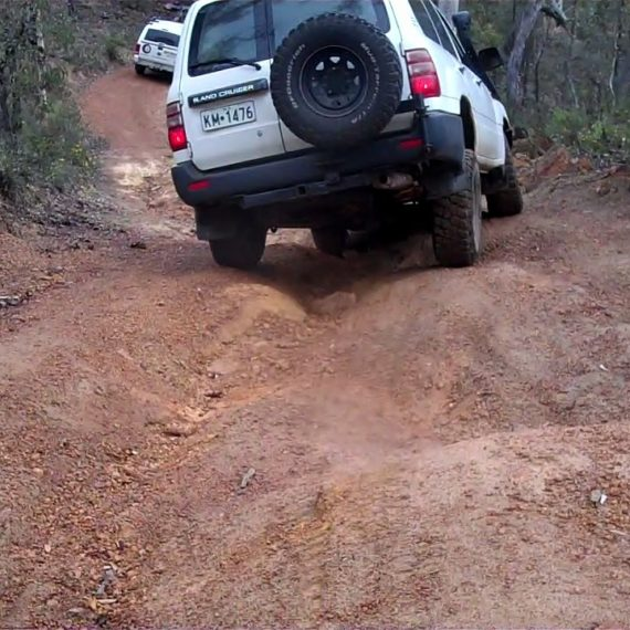 Learn safe dirt track driving techniques for four-wheel drive owners.